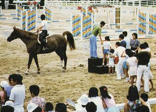 栗東トレーニングセンター第1回「馬と親しむ日」