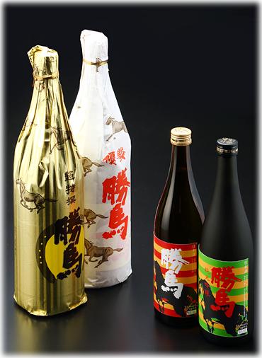 安井商店オリジナル「清酒 勝馬」シリーズ