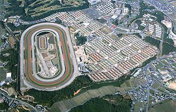 栗東トレーニングセンター航空写真
